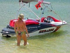 Perdido Pass - '08 SeaDoo Speedster 150