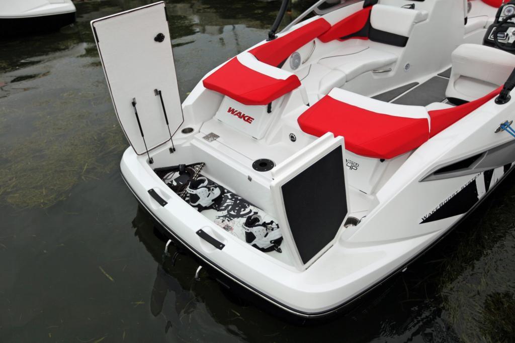 2010 Sea-Doo 210 WAKE Sport Boat -  Details - Transom Storag