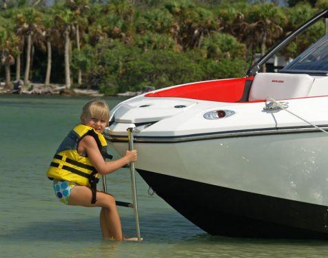 2010 Sea-Doo 210 WAKE Sport Boat -  Details - bow ladder 1.j
