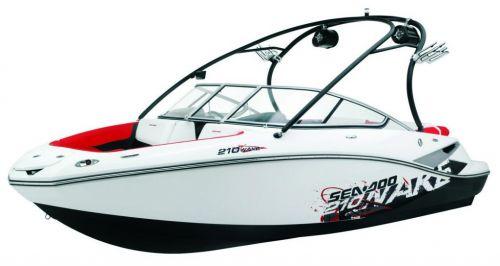 2010 Sea-Doo 210 WAKE sport boat studio - front 1-4.jpg