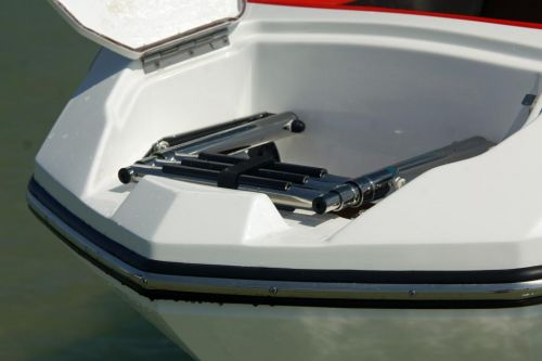 2010 Sea-Doo 210 WAKE Sport Boat -  Details - bow ladder sto