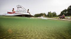 2010 Sea-Doo 230 Challenger SP sport boat - on-water (11).jp