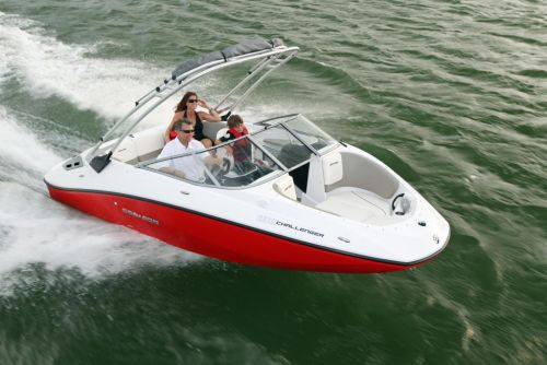 2011 Sea-Doo 180 Challenger Boat - Action.JPG