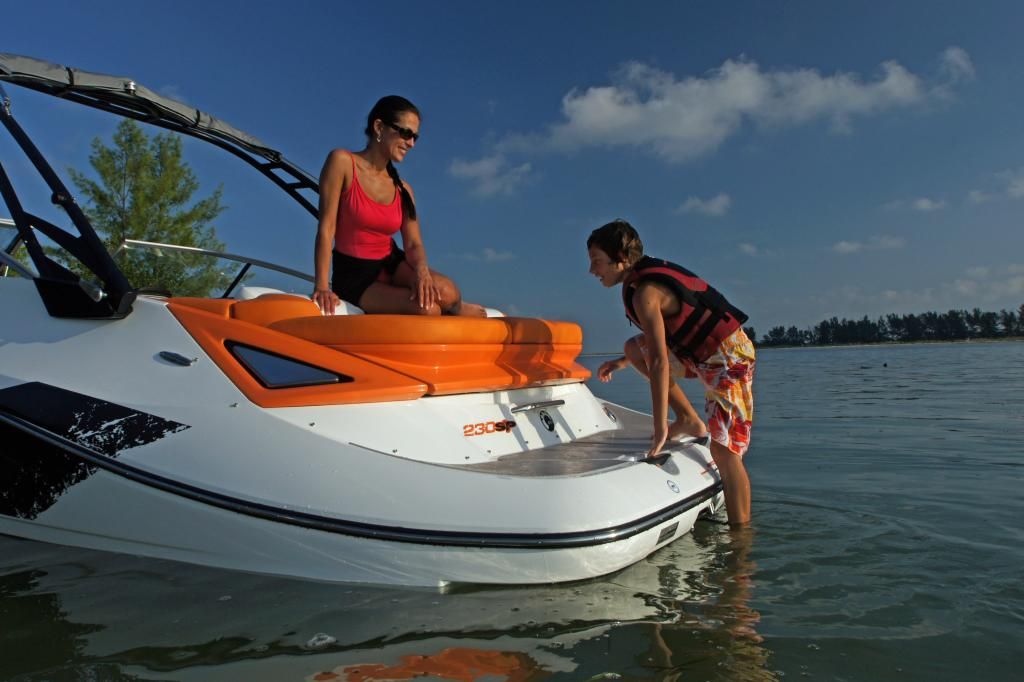 2011 Sea-Doo 230 SP Boat - Details Ladder.JPG