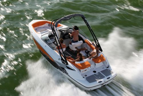 2011 Sea-Doo 210 SP Boat - Action (11).JPG