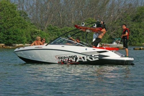 2011 Sea-Doo 210 WAKE Boat - on-water (16).JPG