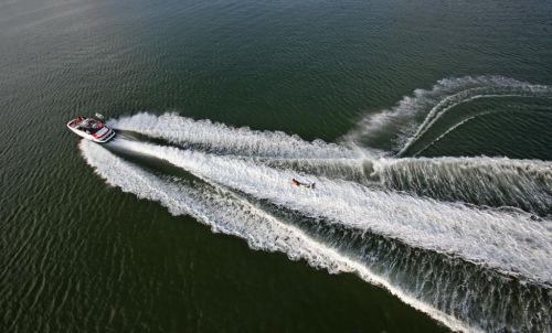 2011 Sea-Doo 230 WAKE Boat - Action.JPG