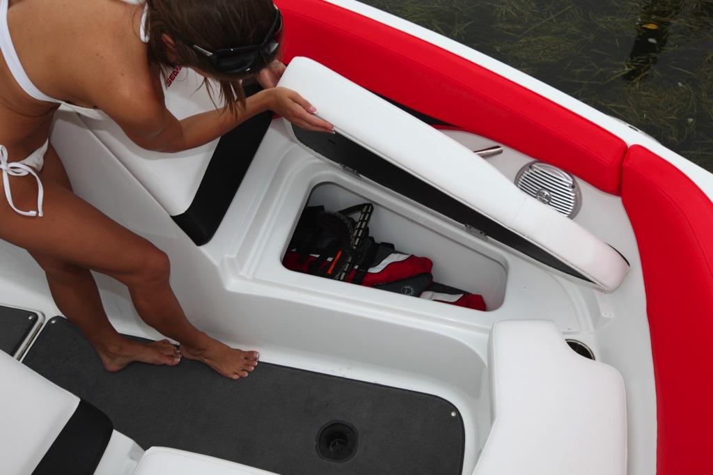 2012 Sea Doo 210 WAKE  Boat    Details   Bow Storage