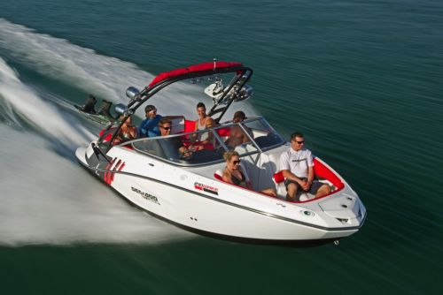 2012 Sea Doo 210 WAKE Boat   Action 1