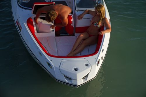 2012 Sea Doo 210 WAKE Boat   Details Bow filler And storage