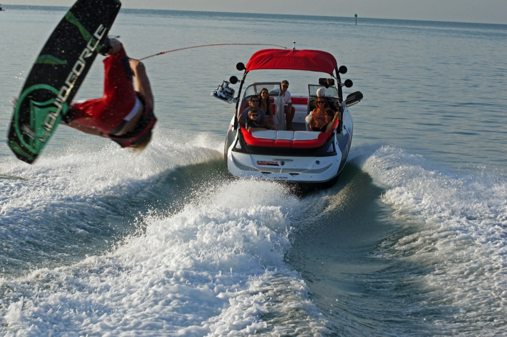 2012 Sea Doo 230 WAKE Boat   Action 1