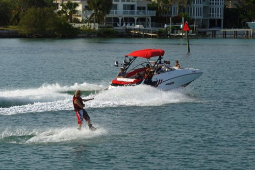 2012 Sea Doo 230 WAKE Boat   Action 5