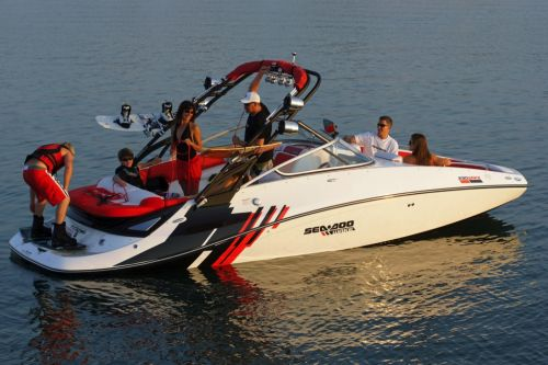 2012 Sea Doo 230 WAKE Boat   Lifestyle 6