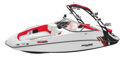 2012 Sea Doo 230 Wake   Studio   Front3 4