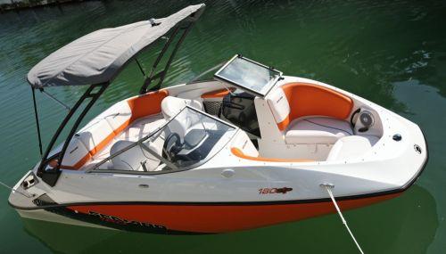2012 Sea Doo 180 SP Boat   Details Bimini