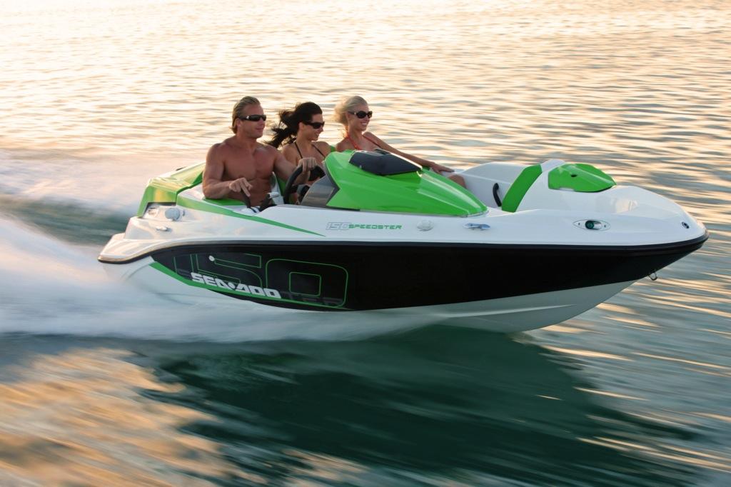 2012 Sea Doo 150 Speedster Boat   Action 14