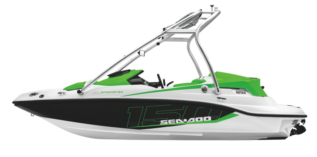 2012 Sea Doo 150 Speedster   Studio   Profile Lo Grn