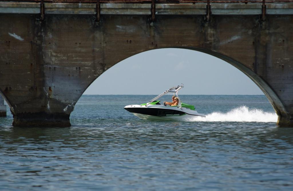 2012 Sea Doo 150 Speedster Boat   Action 3
