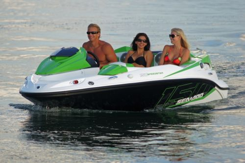 2012 Sea Doo 150 Speedster Boat   Action 9
