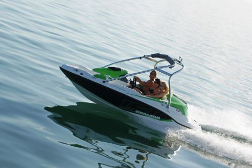 2012 Sea Doo 150 Speedster Boat   Action 7