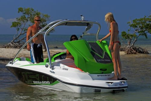 2012 Sea Doo 150 Speedster Boat   Details Rear Storage