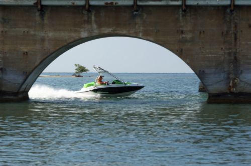 2012 Sea Doo 150 Speedster Boat   Action 4