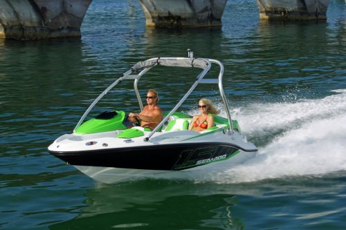 2012 Sea Doo 150 Speedster Boat   Action 5