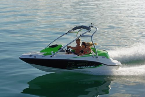 2012 Sea Doo 150 Speedster Boat   Action 8