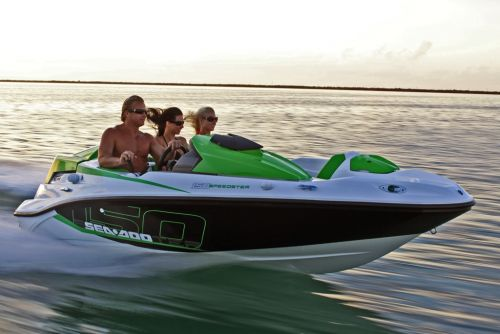 2012 Sea Doo 150 Speedster Boat   Action 15