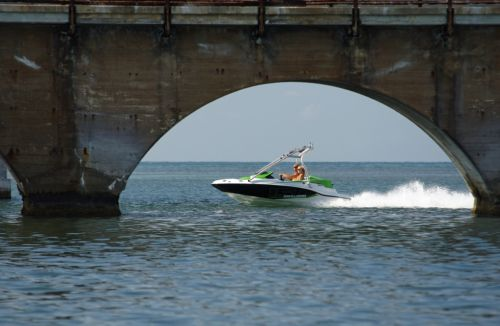 2012 Sea Doo 150 Speedster Boat   Action 3