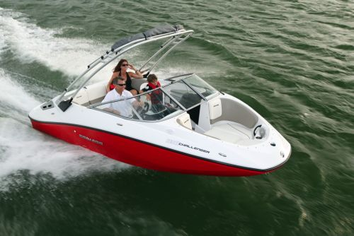 2012 Sea Doo 180 Challenger   Action