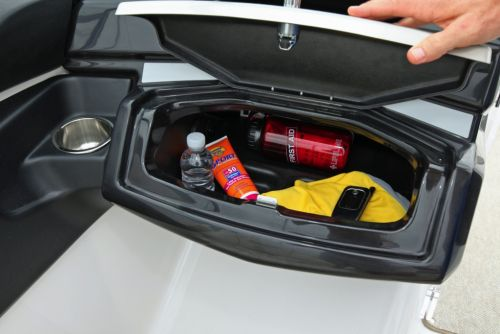2012 Sea Doo 210 Challenger   Details glove Box