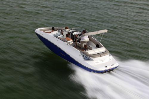 2012 Sea Doo 230 Challenger Boat   Action (1)