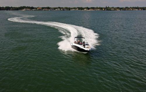 2012 Sea Doo 210 Challenger Boat   Action