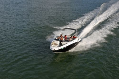 2012 Sea Doo 210 Challenger Boat   Action (3)