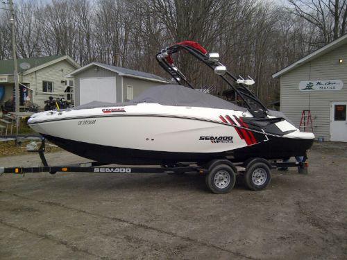 new boat pickup