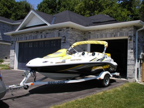 2005 Sportster SCIC with Bimini Top installed