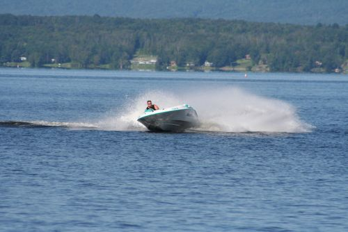 Just me early in the morning on Great Sacandaga Lake