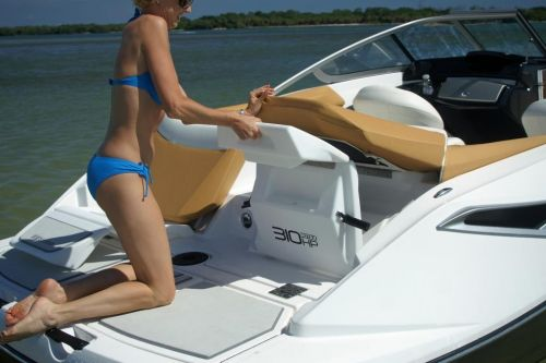 2010 Sea-Doo 210 Challenger  sport boat - Transat Lounge tra