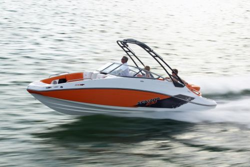 2011 Sea-Doo 230 SP Boat - Action.JPG