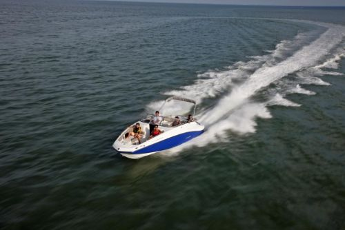 2011 Sea-Doo 230 Challenger Boat - Action.JPG
