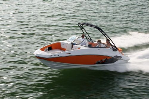 2011 Sea-Doo 230 SP Boat - Action (2).JPG