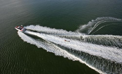 2011 Sea-Doo 230 WAKE Boat - Action.JPG