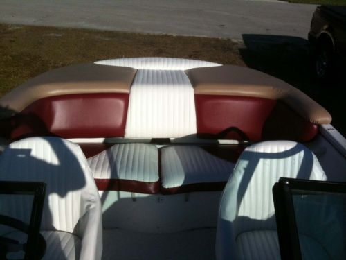 2001 Utopia Rear Seats And Sun Deck After