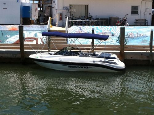 Full Bimini at Royal Palm Marina