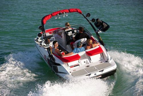2012 Sea Doo 210 WAKE Boat   Action 3