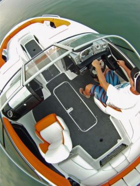 2012 Sea Doo 210 SP Boat   Action