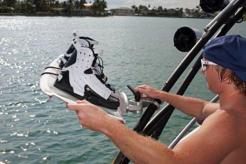 2012 Sea Doo 230 WAKE Boat   Details Pivoting Board Rack