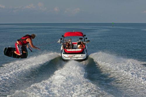 2012 Sea Doo 230 WAKE Boat   Action 4