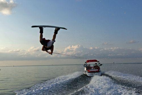 2012 Sea Doo 230 WAKE Boat   Action 3
